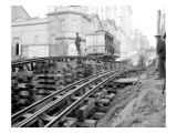Tracks at 3rd and Madison  Seattle  1907