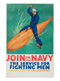 """Join the Navy: the Service For Fighting Men""  1917"