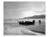 Beaching Canoe  Circa 1910