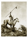 The Challenge (Yakama Warrior on Horseback  1911)
