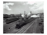 North Coast Limited Leaving Yard  Seattle  1930