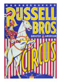 """Russell Bros--Greater American Circus""  Circa 1940"
