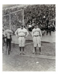 Babe Ruth and Bob Museul  October 18  1924