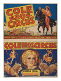 """Cole Bros Circus: World'sGreatest and Best Loved Amusement Institution""  Circa 1938"