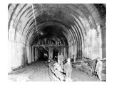 Great Northern Tunnel Under Seattle  Jan 25  1904