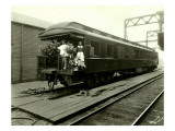 Northern Pacific Railroad Passenger Car  Circa 1926