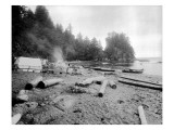 Camp Near Neah Bay  Circa 1914
