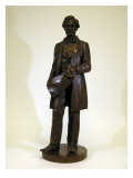 Statue of Abraham Lincoln By James A Wehn  After a Statue By Leonard W Volk  1891