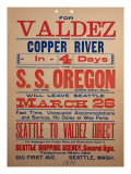 """For Valdex and Copper River""  1901"