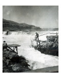 Celilo Fishing  Circa 1930