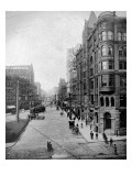 Streetscene  Seattle  Circa 1900