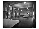 Tacoma Elks Club Billiard Room  1925