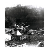 Historical Underwood (Big White Salmon) Indian Village  Circa 1936