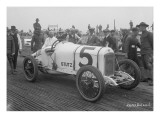 Driver and 5 Racecar  Tacoma Speedway  Circa 1919