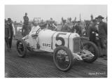 Driver and No5 Racecar  Tacoma Speedway  Circa 1919