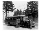 Gray Line Tour Bus  Circa 1930