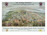&quot;Authorized Birds Eye View of the Alaska-Yukon-Pacific Exposition: Seattle  USA  1909&quot;