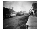 Seward Main Street  AK  1913
