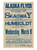 Alaska Flyer Poster  1898