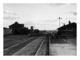 Railroad Tracks at Othello  WA  1911
