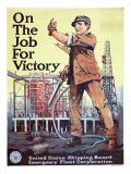 """On the Job For Victory""  1918"