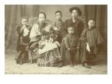 Chinese Family  Circa 1890