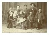 Chinese Family  Circa 1890