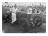 Driver and No4 Racecar  Tacoma Speedway  Circa 1919