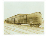 Railroad Boxcar  Chicago-Milwaukee-St Paul Line  Circa 1920s