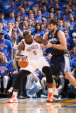 Memphis Grizzlies v Oklahoma City Thunder - Game Seven  Oklahoma City  OK - MAY 15: Kendrick Perkin