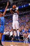 Oklahoma City Thunder v Dallas Mavericks - Game One  Dallas  TX - MAY 17: Jason Terry and Thabo Sef