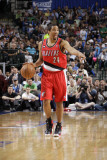 Portland Trail Blazers v Dallas Mavericks - Game One  Dallas  TX - APRIL 16: Andre Miller
