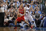 Portland Trail Blazers v Dallas Mavericks - Game One  Dallas  TX - APRIL 16: Brandon Roy and Jason