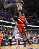 Portland Trail Blazers v Dallas Mavericks - Game One  Dallas  TX - APRIL 16: LaMarcus Aldridge