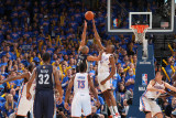 Memphis Grizzlies v Oklahoma City Thunder - Game Seven  Oklahoma City  OK - MAY 15: Shane Battier  