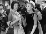 Claudia Cardinale and Michèle Morgan: Les Lions Sont Lâchés  1961