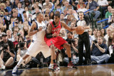 Portland Trail Blazers v Dallas Mavericks - Game One  Dallas  TX - APRIL 16: LaMarcus Aldridge and