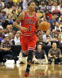 Chicago Bulls v Indiana Pacers - Game Three  Indianapolis  IN - APRIL 21: Derrick Rose