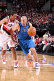 Dallas Mavericks v Portland Trail Blazers - Game Three  Portland  OR - APRIL 21: Jason Kidd and And