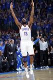Memphis Grizzlies v Oklahoma City Thunder - Game Seven  Oklahoma City  OK - MAY 15 : James Harden