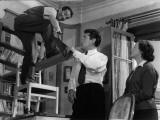Louis De Funès  Robert Lamoureux and Gaby Morlay: Papa  Maman  Ma Femme et Moi  1956