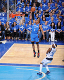 Oklahoma City Thunder v Dallas Mavericks - Game One  Dallas  TX - MAY 17: Russell Westbrook and Jas