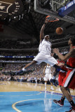 Portland Trail Blazers v Dallas Mavericks - Game One  Dallas  TX - APRIL 16: Brendan Haywood and La