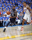 Memphis Grizzlies v Oklahoma City Thunder - Game Seven  Oklahoma City  OK - MAY 15 : OJ Mayo and 