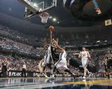 San Antonio Spurs v Memphis Grizzlies - Game Six  Memphis  TN - APRIL 29: Tony Parker and Mike Conl