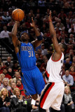 Dallas Mavericks v Portland Trail Blazers - Game Three  Portland  OR - APRIL 21: Jason Terry and We