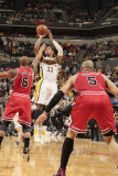 Chicago Bulls v Indiana Pacers - Game Three  Indianapolis  IN - APRIL 21: Danny Granger and Keith B