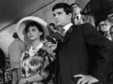 Claudia Cardinale and Jean-Claude Brialy: Les Lions Sont Lâchés  1961