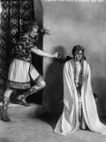 Margarete Sch&#246;n and Paul Richter: Die Nibelungen: Siegfried  1924