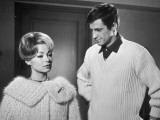 Jean-Paul Belmondo and Dany Robin: La Française et L'Amour  1960